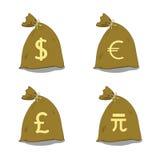 Money bag Royalty Free Stock Photos