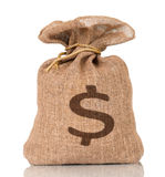 Money bag Royalty Free Stock Photography