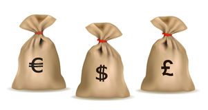 Money bags. Stock Photography