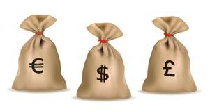 Money Bags. Stock Photography