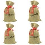 Money bags Stock Photography