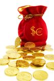 Money bags Royalty Free Stock Images