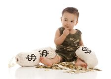 Money Bags! Royalty Free Stock Photography