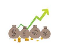 Money bags Stock Photos