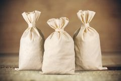 Money Bags Stock Photos