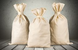 Money Bags Royalty Free Stock Image