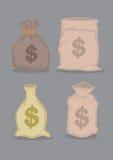 Money Bags Design Vector Illustration Royalty Free Stock Photos