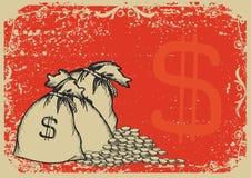 Money bags .Vector Stock Photo