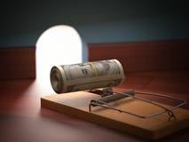 Money Bait Stock Photography