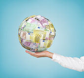 Money ball Royalty Free Stock Photography