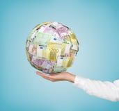 Money ball Royalty Free Stock Photography