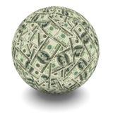Money ball royalty free illustration