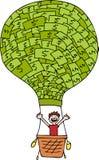 Money Balloon Stock Images