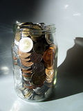 Money in bank Royalty Free Stock Image