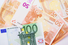 Money. Bank currency euro banknote royalty free stock image