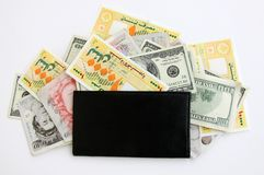 Money Bank Notes Royalty Free Stock Photo