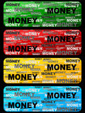 Money banner Stock Photography