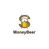 Money beer Royalty Free Stock Photos