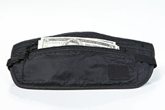 Money belt for anti-theft Royalty Free Stock Images
