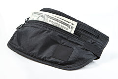 Money belt for anti-theft Royalty Free Stock Photography