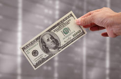 Money Is The Biggest Incentive. And symbol of power Stock Image