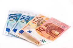 Money bills Stock Image