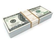 Money bills 3d illustration Stock Photography