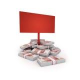 Money blank Stock Photos