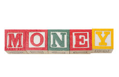 Money Blocks Stock Images