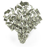 Money blow Stock Photography