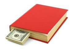 Money in book Stock Photo