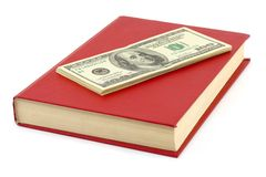 Money and book Stock Image
