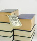 Money in Book. Royalty Free Stock Photography