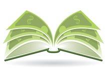 Money Book Royalty Free Stock Photos