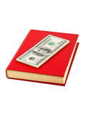 Money and book Royalty Free Stock Photos