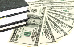 Money and books Royalty Free Stock Photography