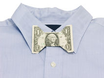 Money bow tie Stock Photos