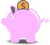 Money box Stock Photos