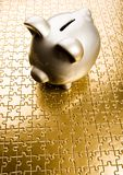 Money box Stock Images
