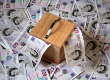 Money box Royalty Free Stock Image
