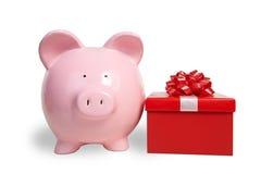 Money-box And Fancy Boxs Stock Image