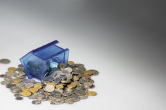 Money box emptied Royalty Free Stock Photos