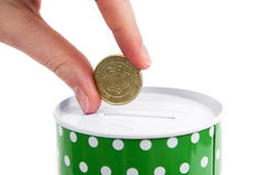 Money box Royalty Free Stock Photo