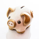 Money box pig Stock Images