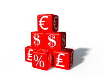Money boxes Stock Photography