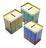 Money Boxes royalty free stock photography