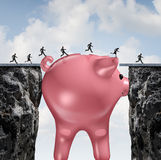 Money Bridge Royalty Free Stock Images