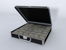 Money Briefcase Small Vault Stock Photos