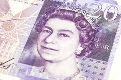 Money british pounds sterling gbp. Closeup royalty free stock images