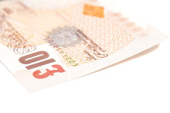 Money british pounds sterling gbp. Isolated royalty free stock photography